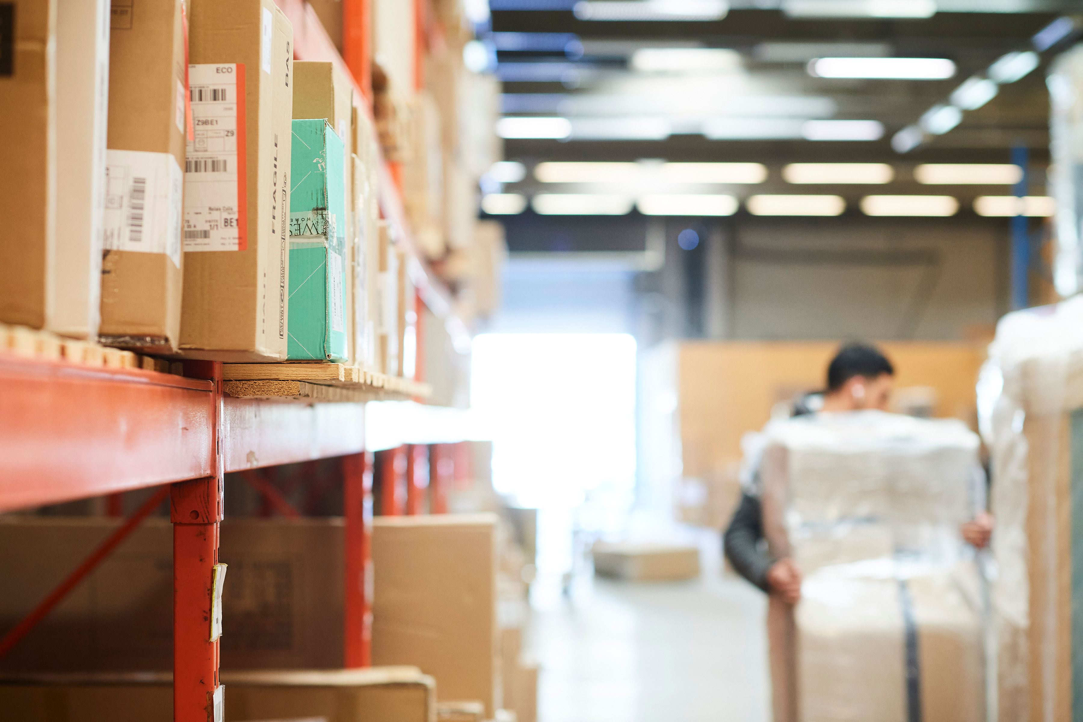 Distributie van uw pakjes en documenten