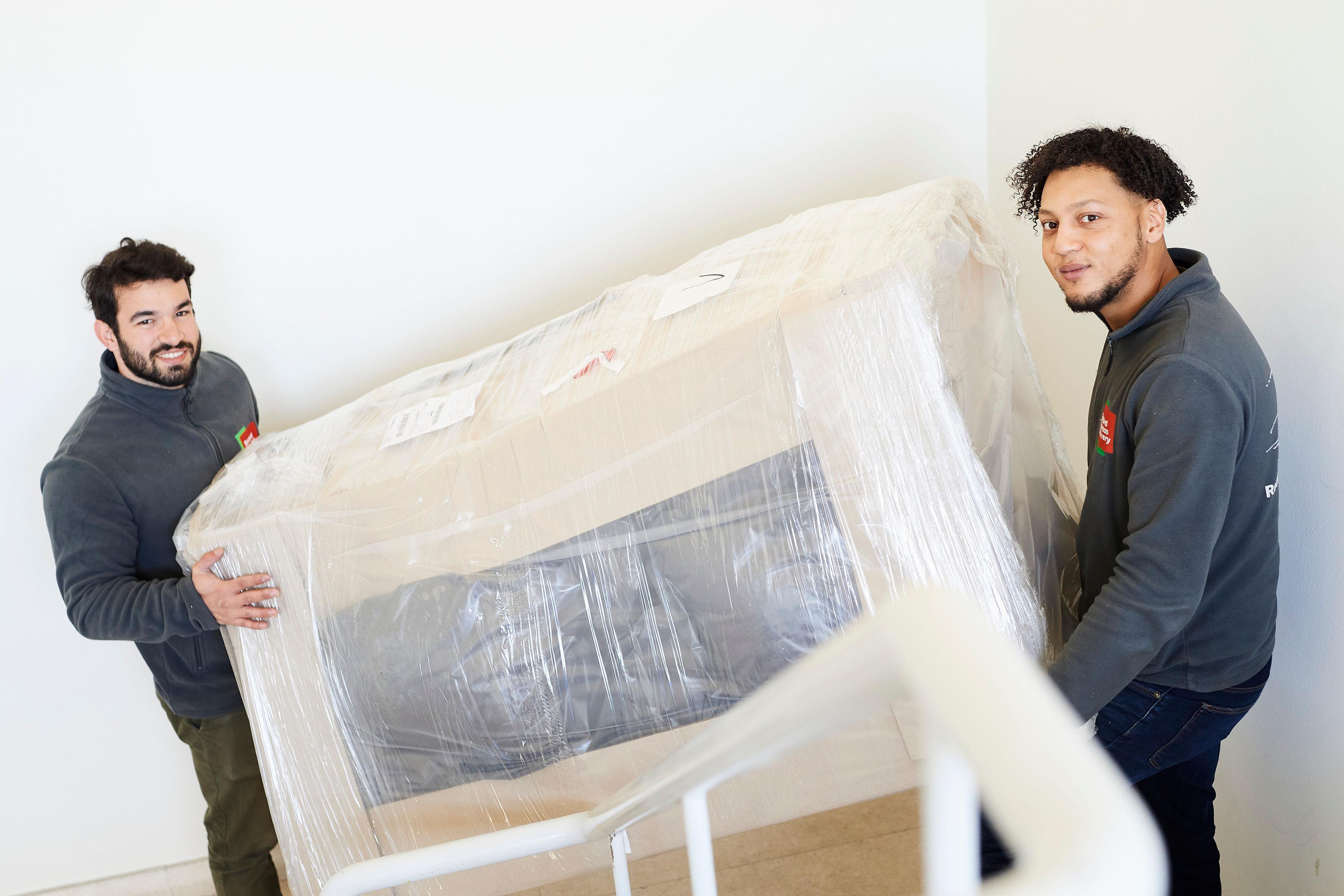 Thuisbezorging van grote pakketten