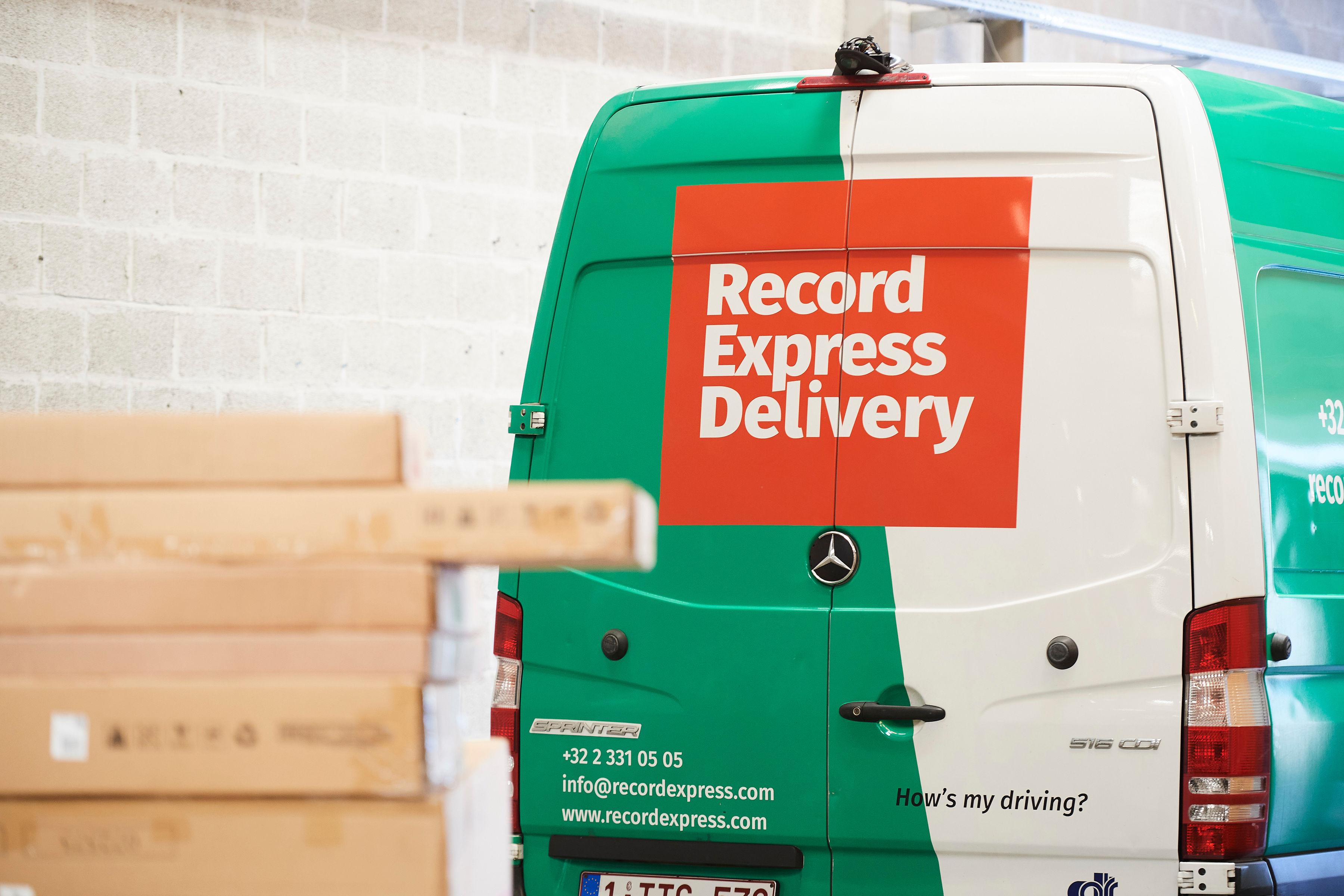 Record Express Delivery levert de laatste kilometer