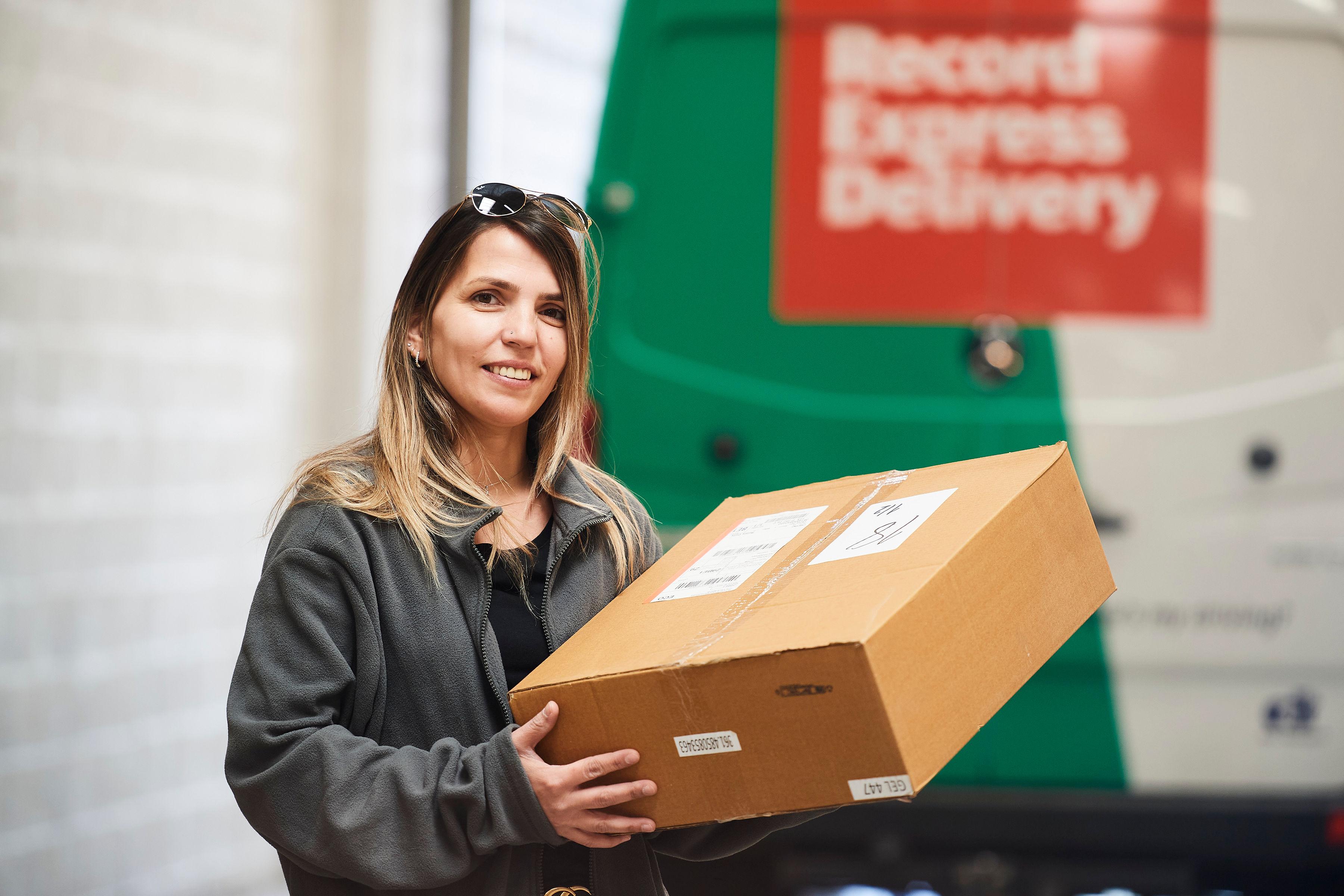 Express levering van uw kleine pakketten in B2B