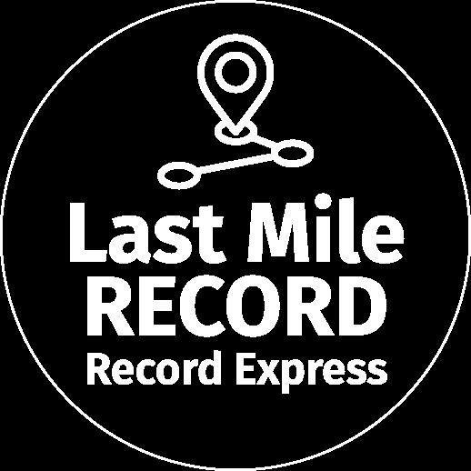 Livraison du dernier kilomètre pas Record Express